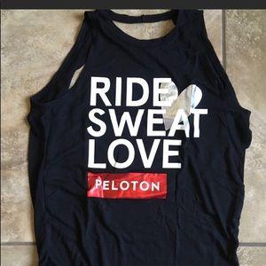 Peloton Ride Sweat Love Tank XS